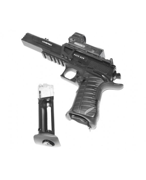 Пневматический пистолет Umarex Race Gun Kit (blowback, коллиматор)