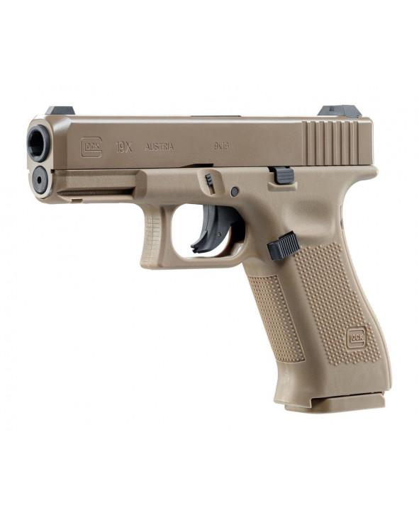 Пневматический пистолет Umarex Glock 19X Tan