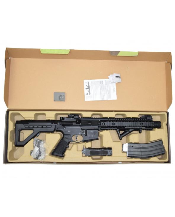 Пневматическая винтовка Crosman DPMS SBR Full Auto (M16, 3 Дж, коллиматор)
