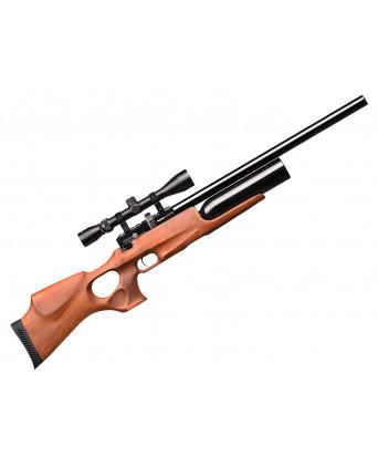 Пневматическая винтовка Kral Puncher Maxi Auto (орех, PCP, 3 Дж) 4,5 мм
