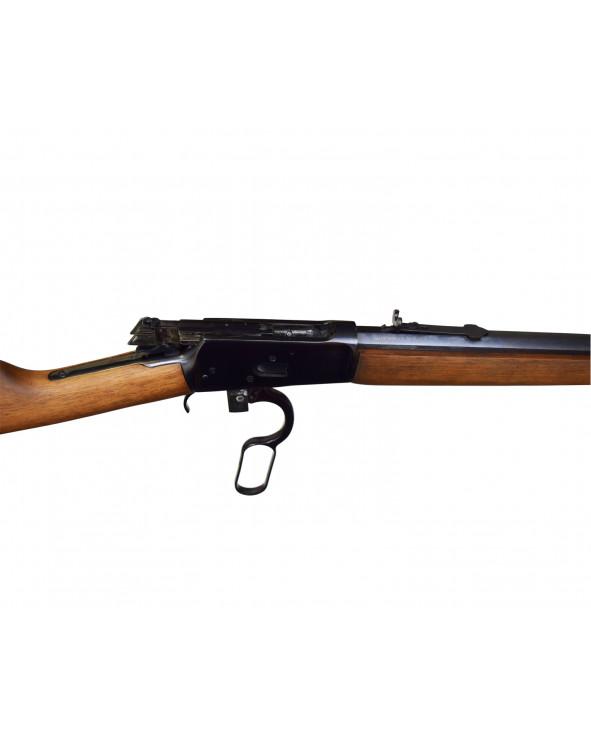 """Охолощенный СХП карабин Rossi-92 Kurs (24"""" восьмигранный ствол, ворон. сталь) 5,45ИМ"""