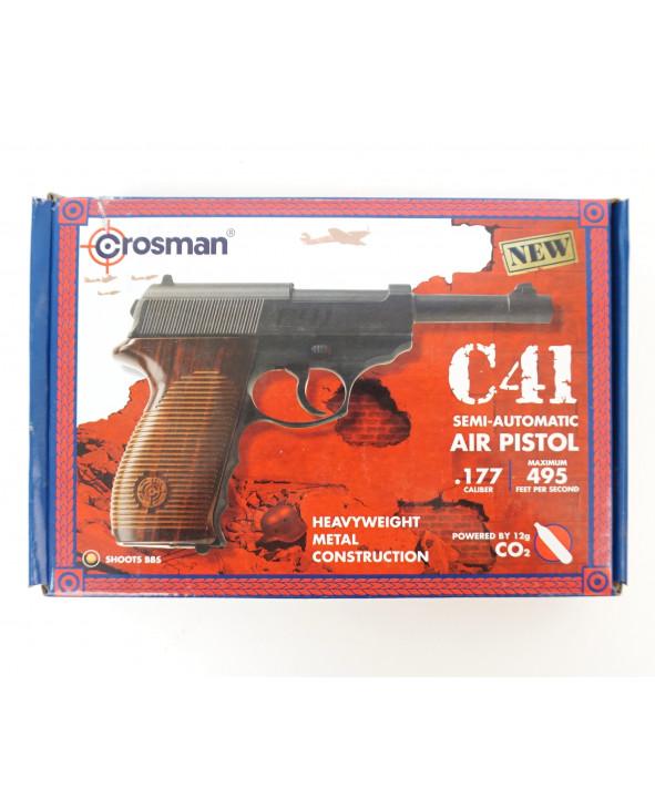Пневматический пистолет Crosman C41 (Walther P.38)