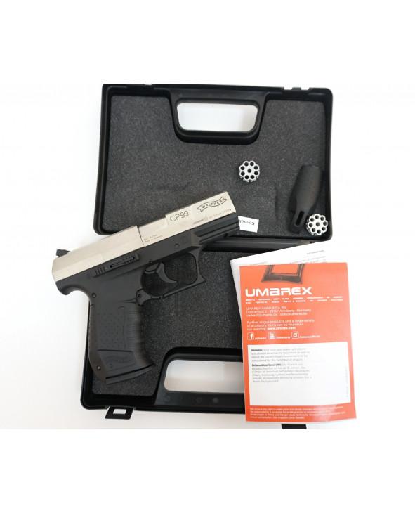 Пневматический пистолет Umarex Walther CP99 Nickel