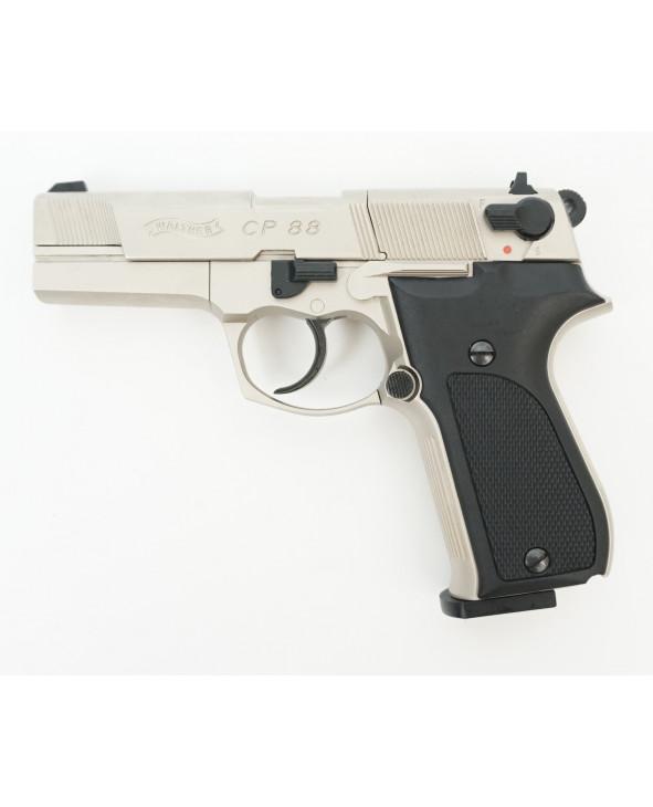 Пневматический пистолет Umarex Walther CP88 Nickel