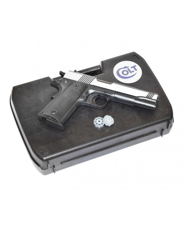 Пневматический пистолет Umarex Colt Government M1911 A1 Dark OPS