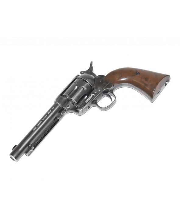 "Пневматический револьвер Umarex Colt Single Action Army (SAA).45 Antique, пулевой (5,5"")"
