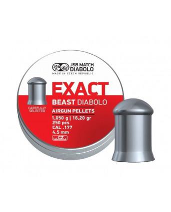 Пули JSB Exact Beast Diabolo 4,5 мм, 1,05 грамм, 250 штук