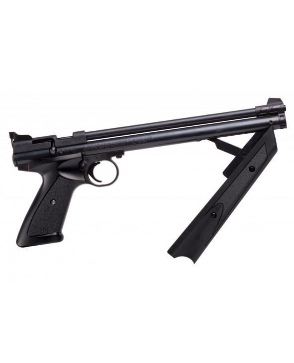 Пневматический пистолет Crosman P1377 American Classic Black